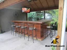 Exterior Small Outdoor Bar Designs Here They Comes Small Full Size - Tiki backyard designs