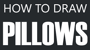 Feather Seat Cushions How To Draw A Pillow Down Feather Pillow Drawing Seat Cushions