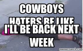 Cowboy Hater Memes - haters be like