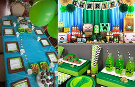minecraft birthday party diy themed so creative things creative