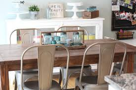 farmhouse table with metal chairs my farmhouse table and a target giveaway the in the red shoes