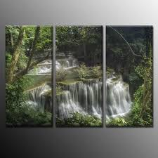Wholesale Modern Home Decor Good Wholesale Vendors Modern Home Decoration Painting Waterfall