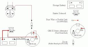 ford 3 wire alternator wiring diagram ford schematics and wiring
