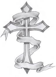 collection of 25 barbed tribal cross design