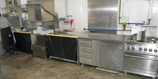 gastroküche gebraucht edelstahl geräte niro küche industrie gastro
