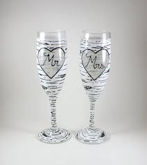 wedding gift glasses wedding decor wedding gift wedding shower handmade gifts