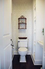 Flooring Ideas For Small Bathrooms by Top 25 Best Small Bathroom Wallpaper Ideas On Pinterest Half