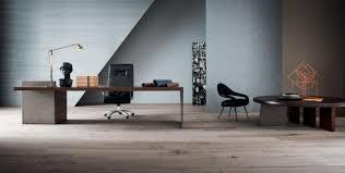 h o desk office furniture by claudio silvestrin poltrona frau h o desk