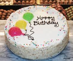 vanilla birthday cake 1 800 bakery