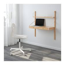 cassettiera da scrivania svaln繖s combinazione scrivania da parete ikea