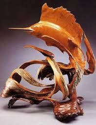 wood sculpture artists dolphin chainsaw carving wood statue chainsaw yard