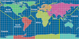 map continents radio continents of the world map