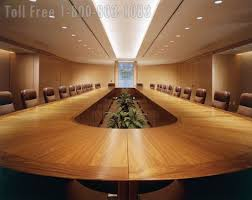 Large Conference Table Wood Veneer Conference Tables Large Oversized Office Furniture