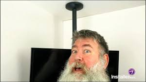 installerparts episode 15 flat tv ceiling mount with tilt and