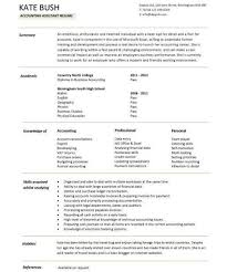 account assistant resume sample click here to download this