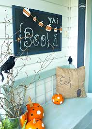 chilling and thrilling halloween porch decorations for simple