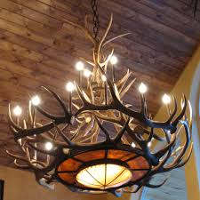 rustic kitchens antlers chandeliers and ceilings
