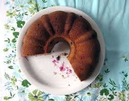 the breakfast bundt buckwheat bundt cake with blueberries