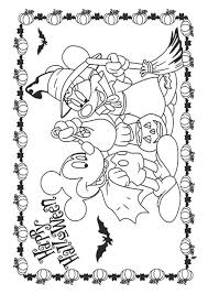 disney halloween color pages 72 best disney halloween coloring page images on pinterest