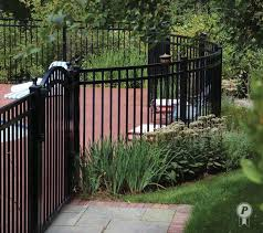 decorative vinyl fencing using a traditional style three rail