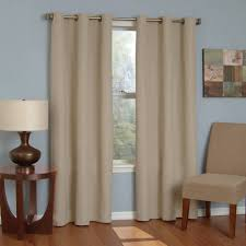 Thermal Curtains For Patio Doors by Sun Zero Caleb Linen Texture Thermal Insulated Energy Efficient