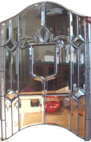 Glass Kitchen Cabinets 14 Best Real Beveled Glass Images On Pinterest Beveled Glass