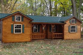 cabin home designs this amish log cabin kit can be yours for 16 350