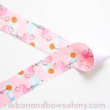 printed ribbons printed ribbons ribbon and bows oh my