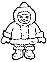 sledding coloring pages eskimo coloring pages getcoloringpages com