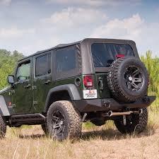 07 jeep wrangler top rugged ridge 13741 11 xhd sailcloth top black assist 4