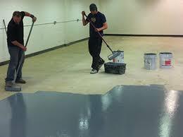painting a floor industrial floor painting intercity contractors