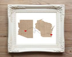 Custom Burlap Art Print Love - burlap art print etsy