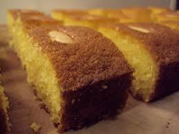 me my food and i sticky semolina cake