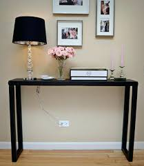 Pink Glass Desk Foyer Table Ideas Pictures Simple Entry Oration Black Tall Small