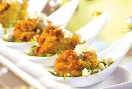 cornmeal fried oysters with blue cheese dressing foodland