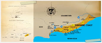 j bay south africa map activities and things to do in the jeffrey s bay area cacadu district