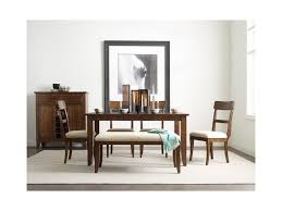 kincaid furniture the nook parson u0027s style dining bench with