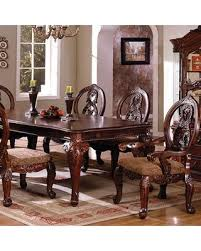 Solid Wood Formal Dining Room Sets Big Deal On Tuscany Ii Collection Cm3845ch T Table 76