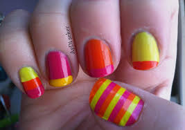 14 neon color designs nails toes images bright neon color toe