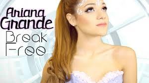 Ariana Grande Costume Halloween Ariana Grande Break Free Inspired Makeup Hair