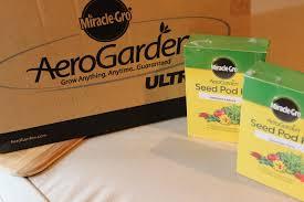 miracle gro aerogarden ultra led indoor garden basilmomma