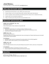 skills for a resume exles resume for restaurant server server resume exles lovely server