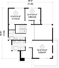 480 Square Feet by Modern Style House Plan 3 Beds 2 50 Baths 2370 Sq Ft Plan 25 4415