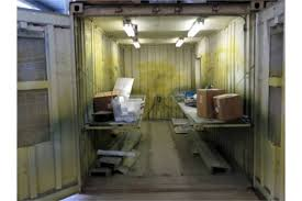 paint booths spray booths spray systems state shipping spray booth custom built w 20â connex shipping containers sgl
