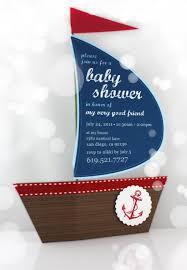 Nautical Baby Shower Decorations - nautical baby shower invitations baby shower decoration ideas