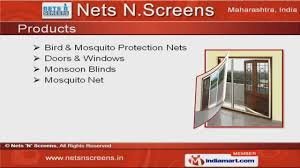 bird u0026 mosquito protection net by nets u0027n u0027 screens mumbai youtube