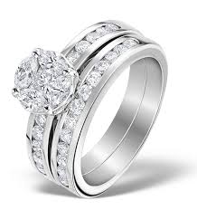 bridal sets uk how to choose an engagement and wedding ring that work together