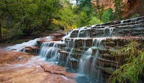 quotes zion national park waterfalls in zion national park my utah parks