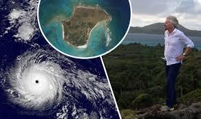 hurricane irma to hit virgin islands where is branson u0027s necker