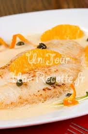 recettes de cuisine marmiton poisson poisson blanc sauce à l orange recette facile un jour une recette